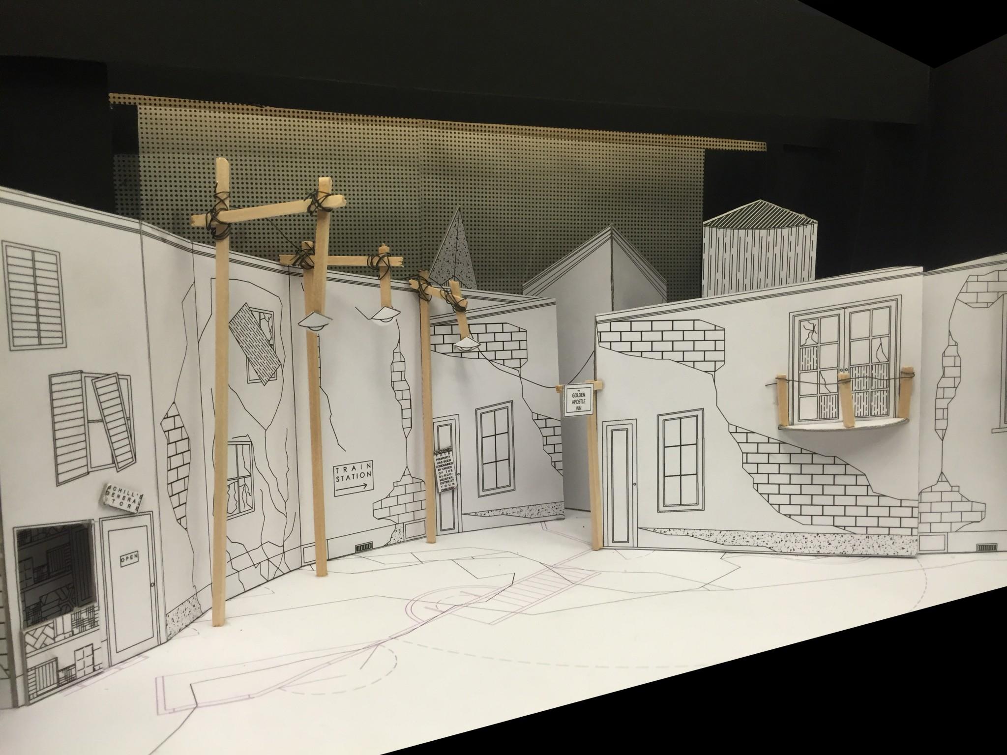 Model View House Left